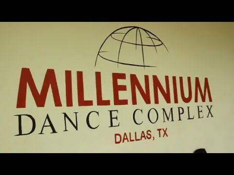 J. Samone & Kassy Levels at Millennium Dance Studio, Dallas, TX