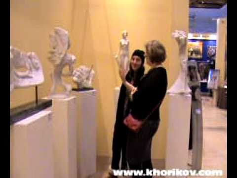 Marble sculpture by Sergey Khorikov