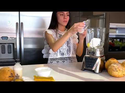 Prepara en casa un Batido de Coco con Piña con un Koky Pulp de Koky Coco!