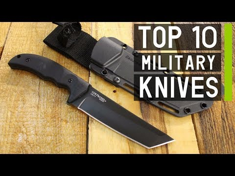 Top 10 Ultimate Military Tactical Knives for Any Survival Scenario