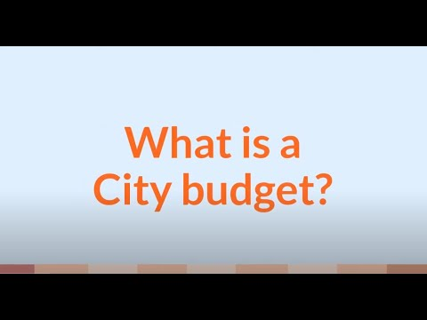 Your City Budget Explained