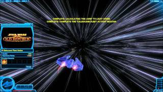 Space Combat Review by Deltrus! Saleucami Fleet Action and Jabiim Escort for visual pleasure