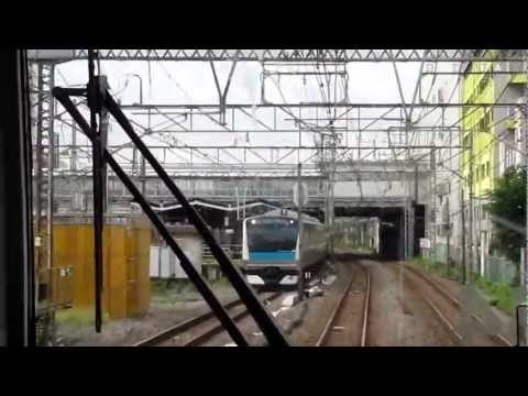 JAPON 2011 - 06.10 - Train de Tokyo à Kamakura