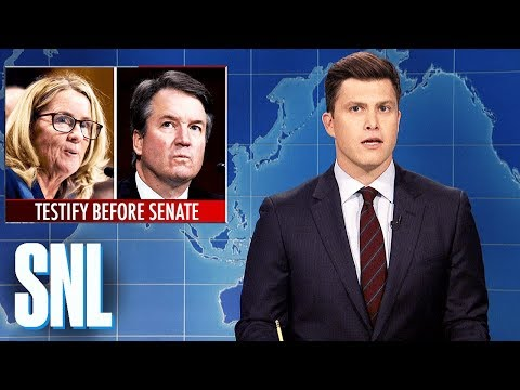Weekend Update: Brett Kavanaugh and Dr. Ford Testify – SNL