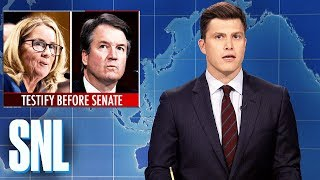 Weekend Update: Brett Kavanaugh and Dr. Ford Testify - SNL