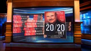 Dr. Phil Thanks Fans for Making The 20/20 Diet a Best-Selling Book