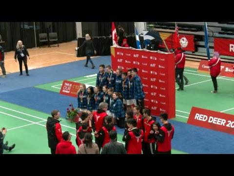 2019 CWG - Badminton - 1st Place - Court 1 Mp3