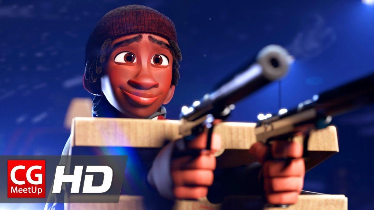 The Box Assassin CGI Animated Short Film: