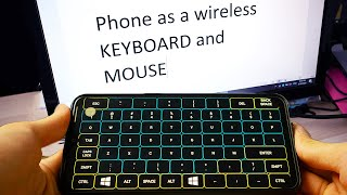 Use your Phone as Keyboard and Mouse   The Most Powerful App I've seen! screenshot 1