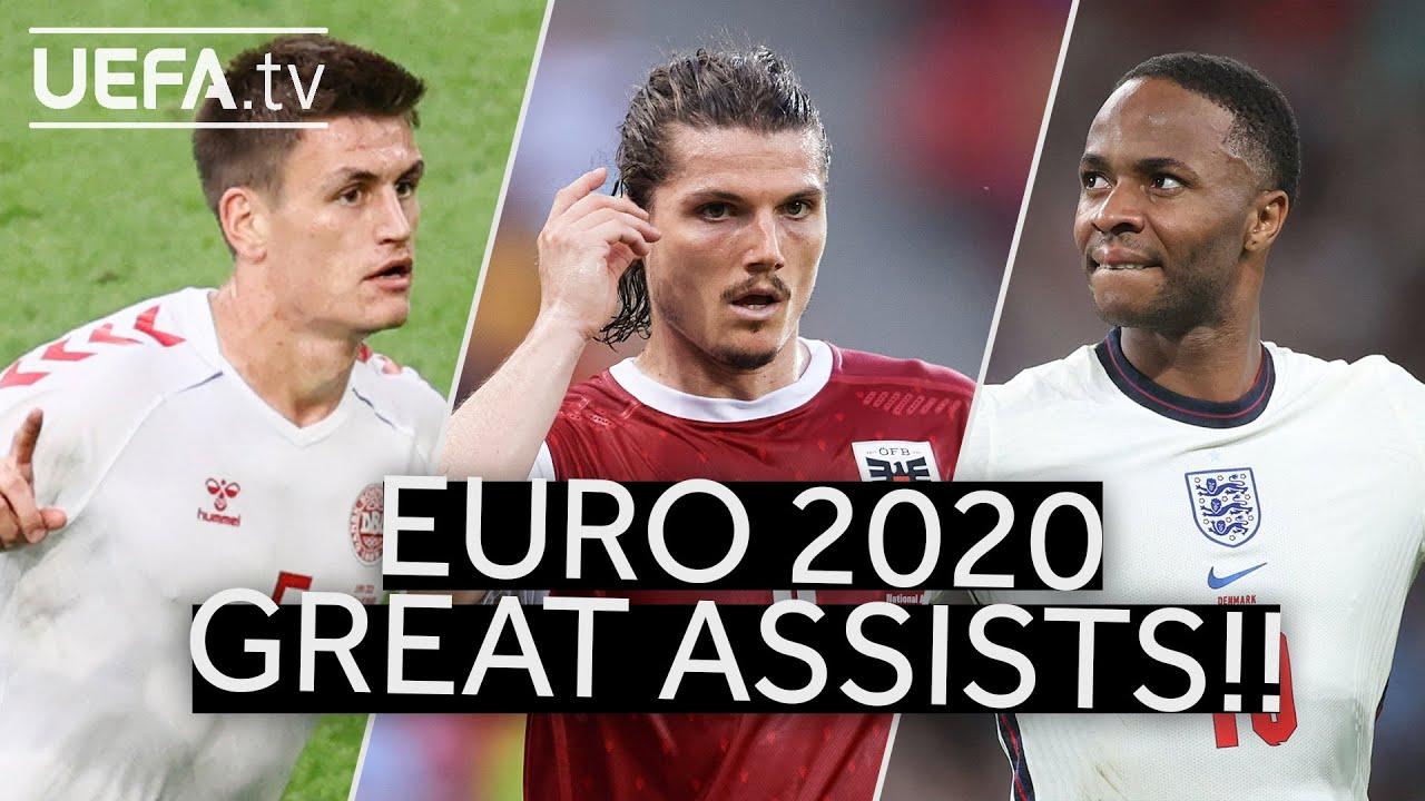 MÆHLE, SABITZER, STERLING | Great EURO 2020 Assists!!