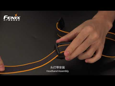 Senter Kepala Fenix HL18RW Headlamp Rechargeable