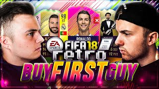 RETRO BUY FIRST SPECIAL CARD 👾 FIFA 18