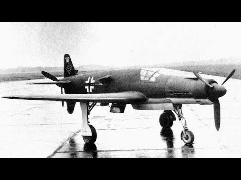 German Piston Powered Fighter Aircraft of WW2 ( Secret German Aircraft too )