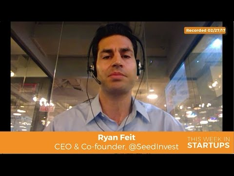 SeedInvest Ryan Feit on advice for non-accredited investors: diversify & invest in diff co's