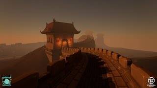 World Wide Racing Demo: China Map - UE4 - University of Derby CGMA