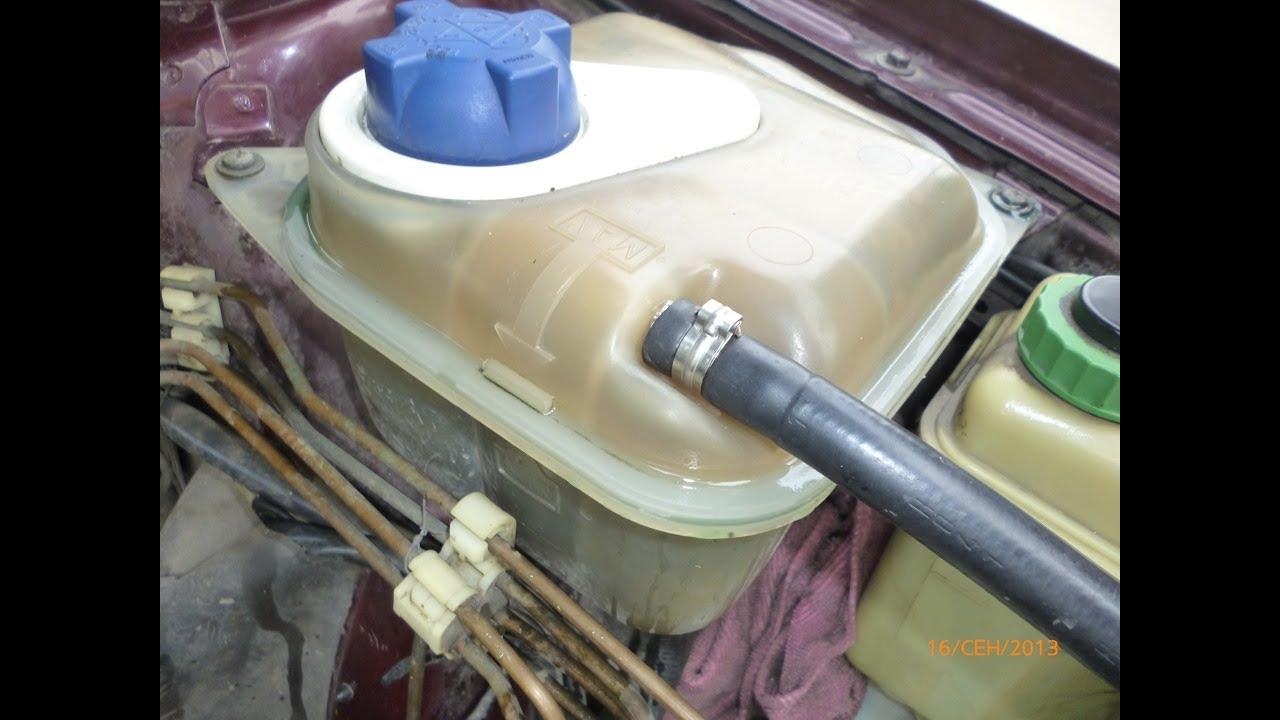 Ремонт расширительного бачка Audi 100 A6 C4 expansion tank repair