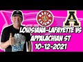 Louisiana vs Appalachian State 10/12/21 Free College Football Picks and Predictions Week 7 2021