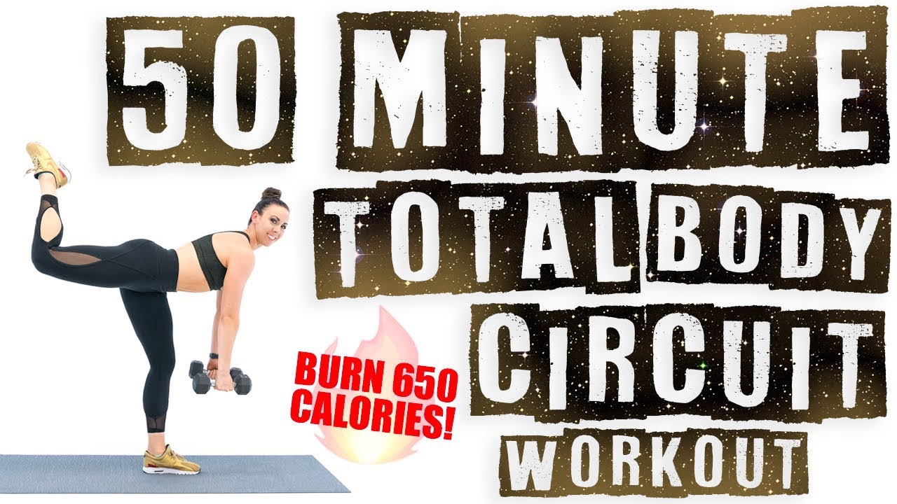 50 Minute Total Body Circuit Workout Burn 650 Calories Youtube The Basic Training We Did Today