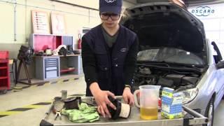 Peugeot 206 hdi - Changement du filtre à carburant