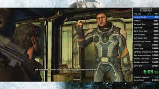 Dead Space 3 Any% NG+ PC Speedrun World Record 2:15:59