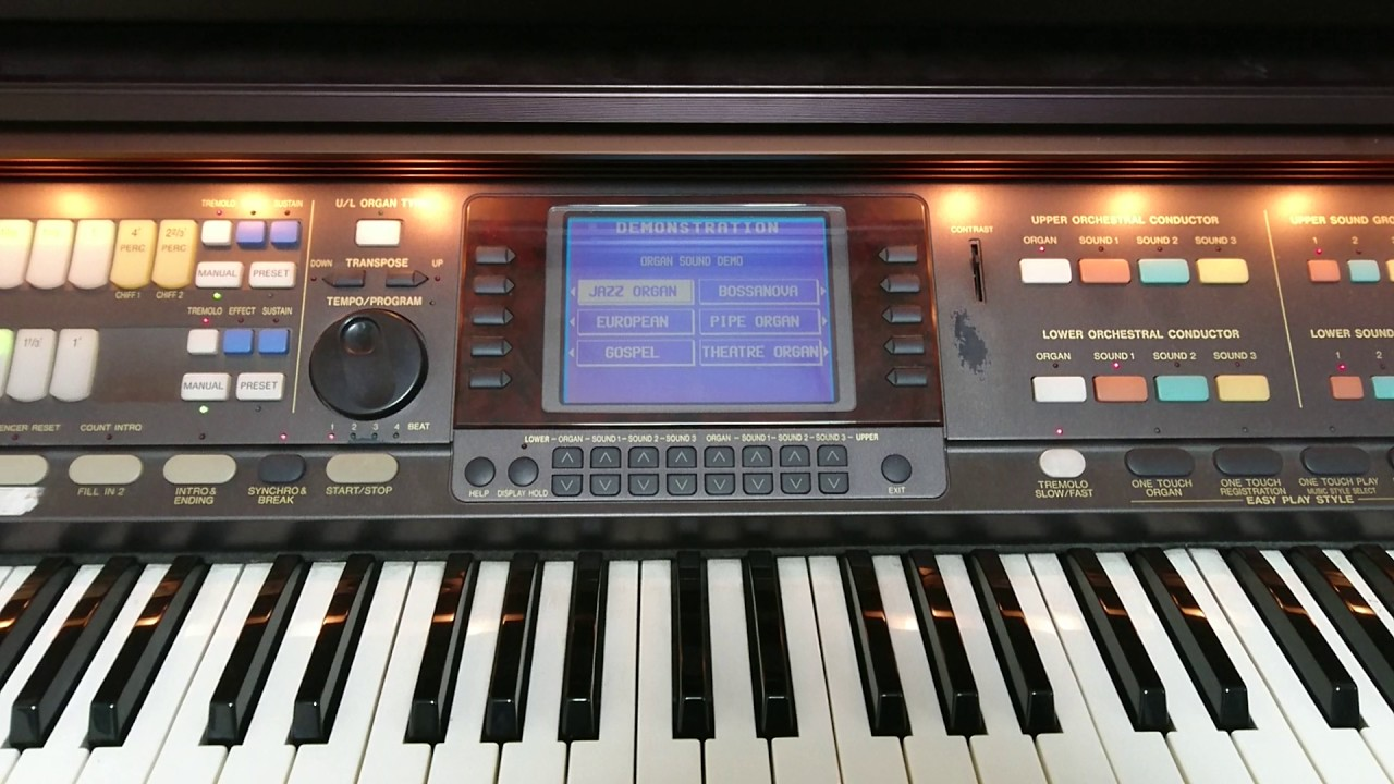 any other known problems on the technics fa1 rh organforum com