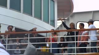 BSB Cruise 2011 Karaoke - If You Wanna Be My Lover