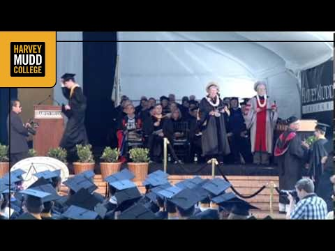 Harvey Mudd College Commencement 2013