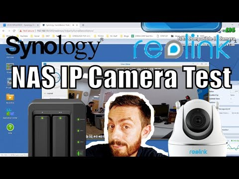 Synology Surveillance NAS and the Reolink C2 Pro