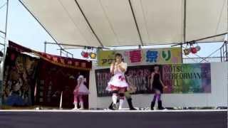 2013 アクアス春祭り 赤**えみ 緑**さや 紫**まりえ 黄色**たま...