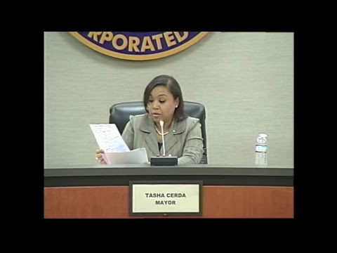 Council Meeting - March 13, 2018