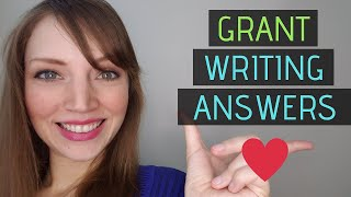 Questions grant writers should ask