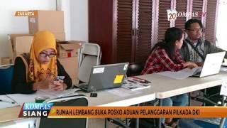 Rumah Lembang Buka Posko Aduan Pelanggaran Pilkada DKI