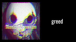 "greed from ""Manic Depression"" by George Nishiyama"