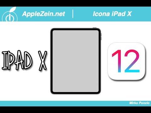 iOS 12: Trovata l'icona SEGRETA del nuovo iPad X con Face ID