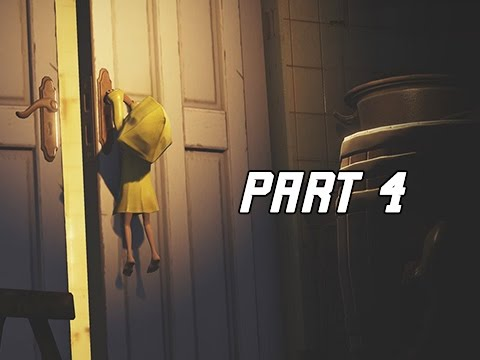 LITTLE NIGHTMARES Walkthrough Part 4 - The Kitchen (PS4 Pro Let's Play Gameplay Commentary)