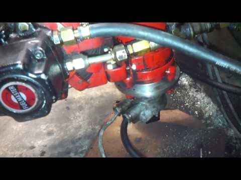 Heavy oil burner