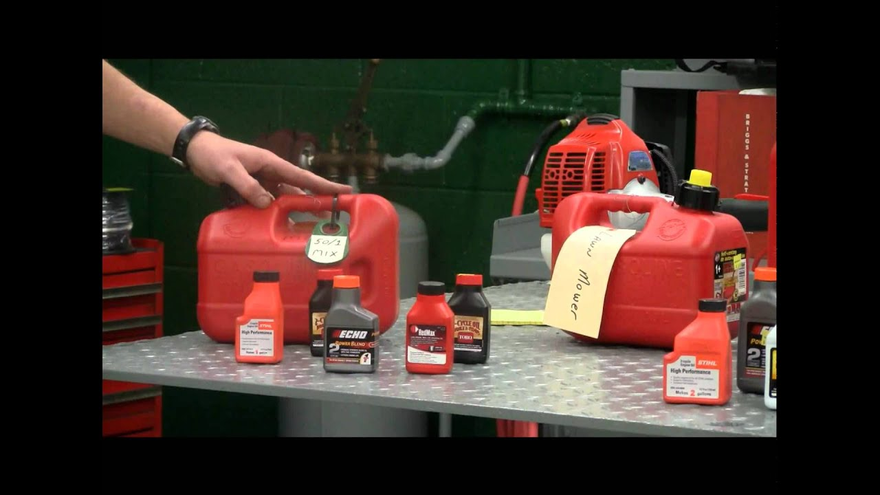 How to Mix Correct Ratio of Oil and Fuel