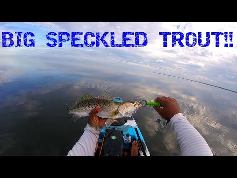 Kayak Fishing For Speckled Trout On The Cape Hatteras National Seashore Outer Banks NC