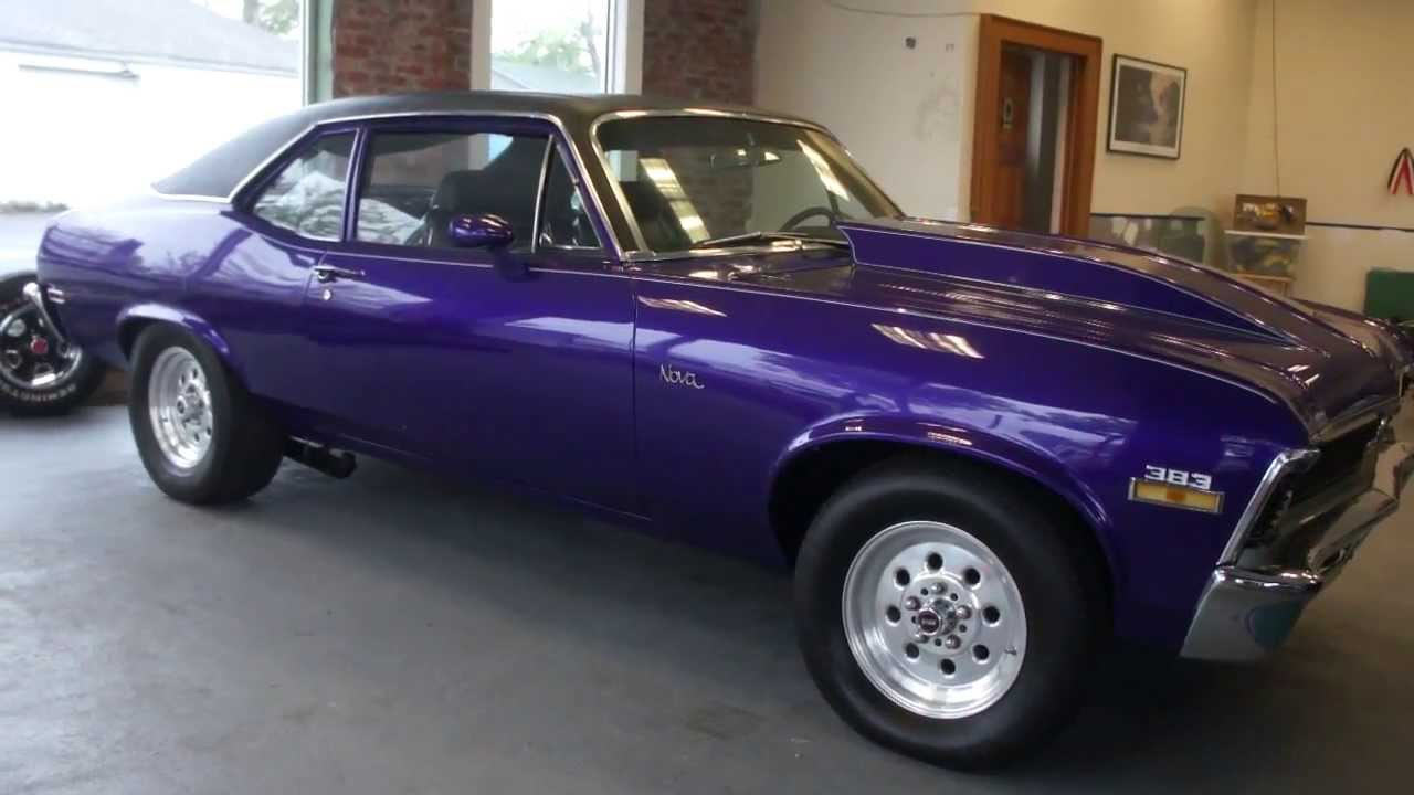 Sold 1971 Nova For Sale Balanced Blueprinted 383 Stroker 600hp