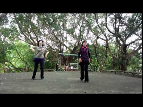 傷不起 shang bu qi 排舞 line dance --- SS華麗二人組