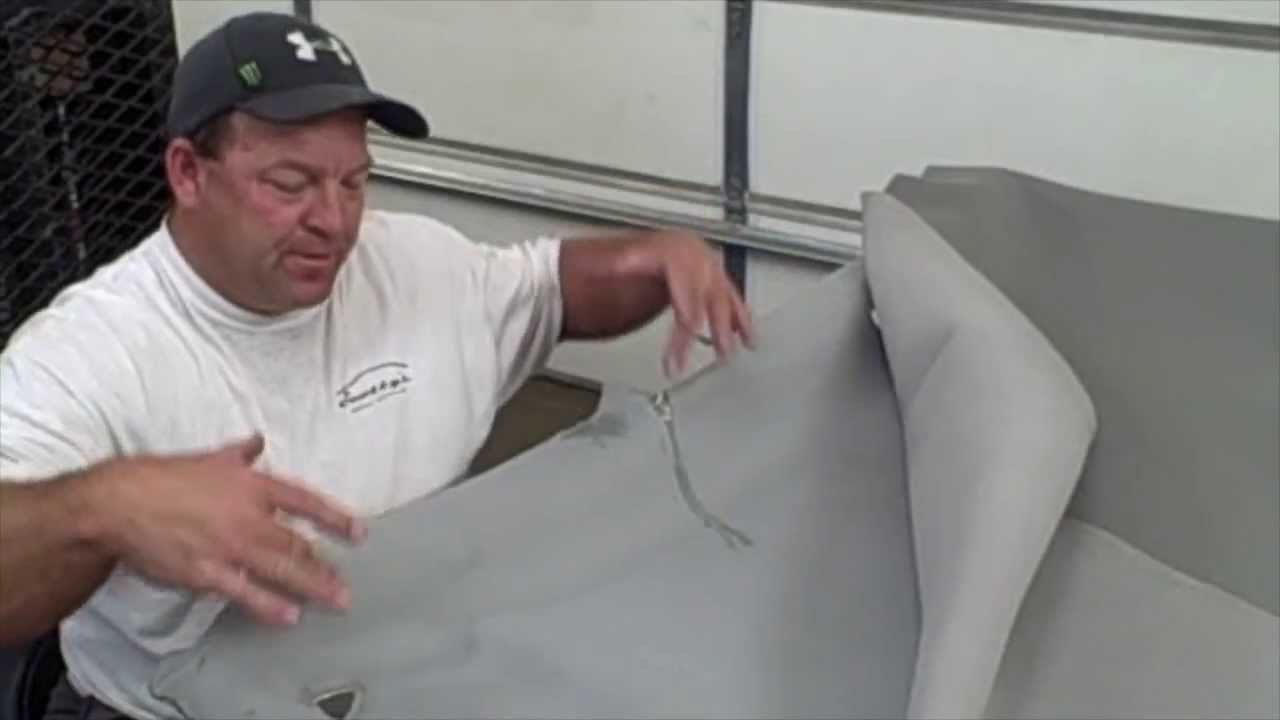 How to repair a Honda Ridgeline headliner (Part 2) - YouTube