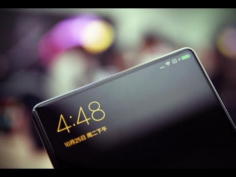 The Xiaomi Mi Mix phone is almost all screen