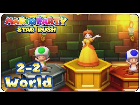 Mario Party Star Rush - Walkthrough Part 8 (Toad Scramble Level 2-2)