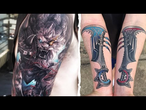 League of legends tattoo