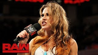 Mickie James addresses Alexa Bliss' disrespectful comments: Raw, Oct. 9, 2017