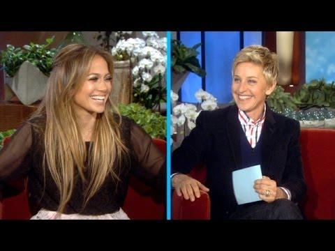Jennifer Lopez and Ellen Play 'Last Word'