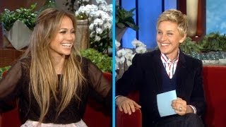 Jennifer Lopez and Ellen Play 'Last Word'