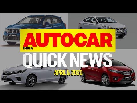 2020 Verna Price, New Honda City Crash Test, Car Sales Plummet And More | Quick News | Autocar India