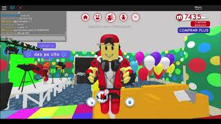 Playing MEEPCITY IN ROBLOX :D WITH FRIENDS