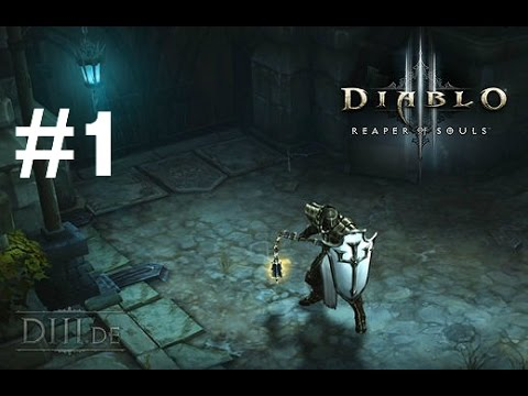 Diablo III Ultimate Evil Edition Gameplay Walkthrough Part 1 (Ps4/Xbox One 1080p HD)